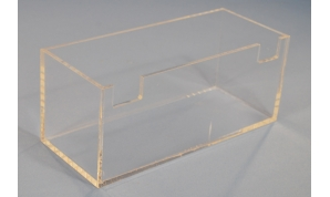 Clear Acrylic Fabricated Box