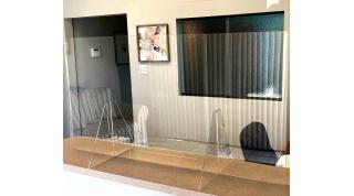 Acrylic Safety Barriers - Custom Sizes