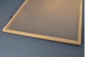 Plastic Retrofit Frame with Clear Prismatic Flatsheet