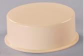 Round Smooth White Acrylic Mini Drop