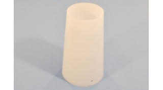 Smooth White Acrylic Cylinder