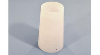 Smooth White Acrylic Cylinder
